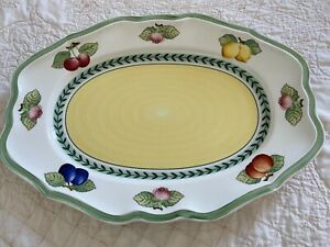 Villeroy & Boch 'French Garden Fleurence' country Collection oval platter