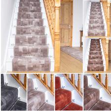 Runrug UK Long Runner Tapis Escalier Antidérapant Custom Longueur escalier tribu