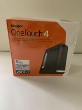 Maxtor OneTouch 4 External Hard Drive For PC And Mac USB 2.0 250GB