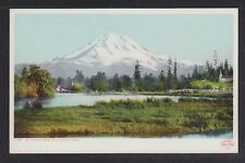 USA 1900's 2x POSTCARDS MOUNT TACOMA & MOUNT RAINIER IN WASHINGTON UNUSED