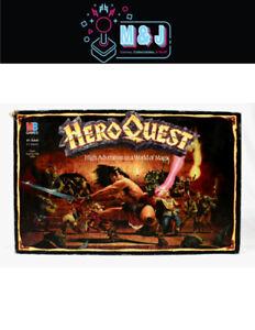 HERO QUEST: High Adventure in a World of Magic Board Game *RARE* (Aus Seller)