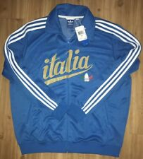 "BNWT Adidas Italy ""Italia"" Track Top Jacket Men 2XL"