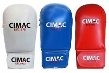 Cimac Karate Mitts Without Thumb Adult Sparring Gloves Aikido Competition Mitts
