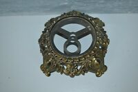 VINTAGE ACCURATE A4181 CASTING HURRICANE  CAST METAL ORNATE BRASS GOLD  BASE