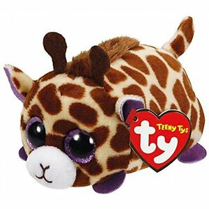 TEENY TYS MABS THE BROWN GIRAFFE BNWT STACKABLE BEANIES