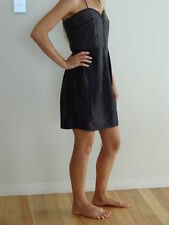 LBD - Above The Knee, Strapless Black GASP Party Dress- Size Small/Size 8