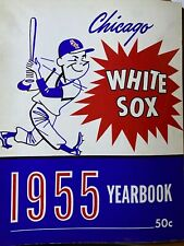 CHICAGO WHITE SOX YEARBOOK 1955