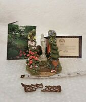 Lilliput Lane Secret Garden TRANQUIL TREASURE 1998 *Broken Arch*