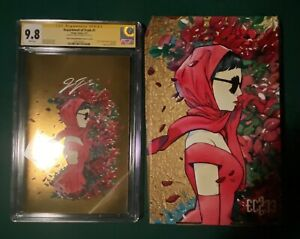 Department Of Truth 4th Print Peach Momoko Gold Foil CGC 9.8 SS Box Set Ltd 150