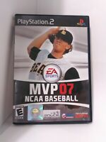MVP 07 NCAA Baseball (Sony PlayStation 2, 2007) CIB Tested Fast Shipping