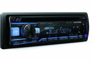 NEW ALPINE CDE-172BT AM/FM/CD/USB/BT RECEIVER ADVANCED BLUETOOTH QUICK SHIPPER