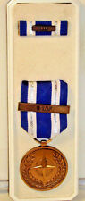 NATO Medal for Non-Article 5 Medal for ISAF with Medal, Ribbon, & Box