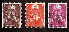 LUXEMBOURG  #329-331    USED   (1603124)