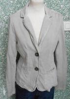 20 6001 Street One Damen Shirt Jacke Blazer Shirtblazer Gr. 40 Damenblazer beige