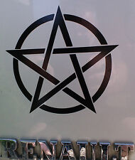 Pentogram Magic pagan gods myths stickers/car/van/bumper/window/decal 5112