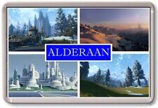 FRIDGE MAGNET - ALDERAAN - Large - Star Wars TOURIST
