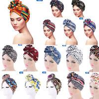 Women Hair Loss Scarf Cancer Chemo Cap Muslim Turban Hat Hijab Head Wrap bara
