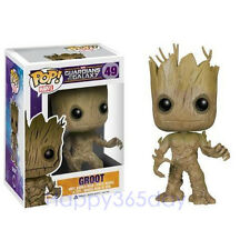 Funko Pop Marvel Groot #49 Guardians of the Galaxy Vinyl Bobble Head Toy New