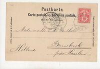 Switzerland 1 Aug 1899 44 No.8 Ambulant Postmark  250b