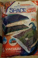 "Space Saver Premium JUMBO 40"" x 30"" Vacuum Storage Bags 6 Pack FREE Hand Pump"