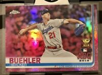 ⭐️2019 Topps Chrome Update Pink Refractor #89 Walker Buehler ROOKIE ASG  Dodgers