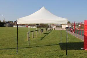 Barnum/Tente Tonnelle blanc 3x3m pliant imperméable Vendeur PRO