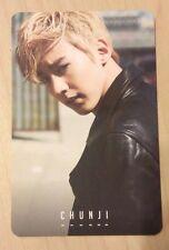 Teen Top Exito ChunJi / Chun Ji official photo card