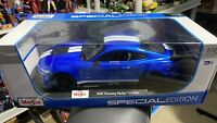 Maisto 2020 Ford Mustang Shelby GT500 1:18 Special Edition New In Box - Blue