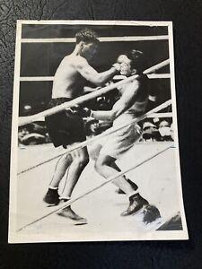 1927 Jack Dempsey Vs. Gene Tunney Original Type 1 Boxing Photo  Mint