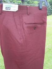 Nos Vintage Haggar Slacks Golf Pants Trousers Leisure Anchor Man Retro Men 31x31