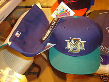 MILWAUKEE BREWERS hat cap 1990'S FITTED SIZE 7  VINTAGE