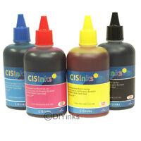 CISinks 4 Color Refill Ink alternative for WorkForce EcoTank ET4500 ET4550