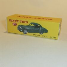 Dinky Toys 157 Jaguar XK120 Coupe empty Reproduction Box