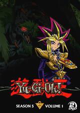 Yu-Gi-Oh: Season 5, Vol. 1 (DVD, 2014, 2-Disc Set) New