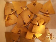 Konvolut Ohrringe Modeschmuck goldfarben
