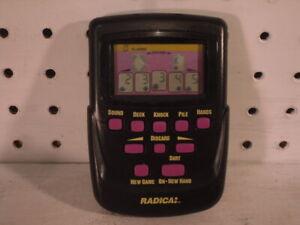 Radica Gin Rummy 3662 LCD Handheld Electronic Casino Game