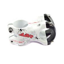 ABR Aleación 31.8 x 50 mm Potencia para MTB Bicicleta de Carretera - Blanco