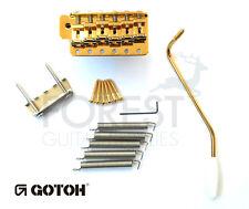 GOTOH vintage Tremolo Bridge Stratocaster GE101TS gold, STEEL BLOCK