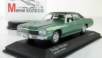 Scale Car 1:43, Dodge Monaco 1974 Green Metallic