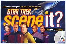 Star Trek Scene It DVD Trivia Family Board Game Mattel TV and Movie Clips