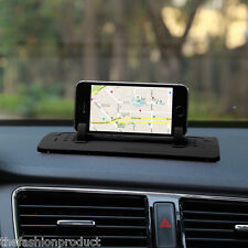 Car Mount Stand Holder Dash Mat Cradle Dock Anti-slip For iPhone Tablet PC GPS
