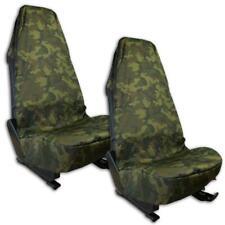 2x Universal Autositz Sitzschoner Sitzbezug Werkstattschoner Military Tarnfarben