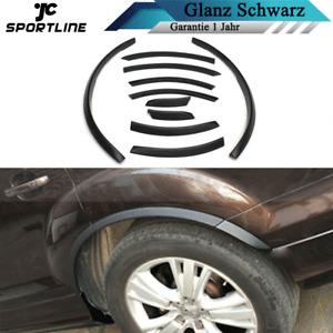Glanz Schwarz Radläufe Felgenschutz Fackeln Verkleidung für Audi Q7 RSQ7 Sline