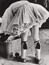 1933/66 Vintage Greek Army Male EVZONES UNIFORM Fashion 16x20 ALFRED EISENSTAEDT