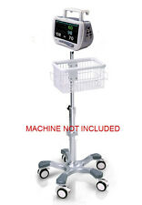 Rolling stand for Mindray PM-7000 patient monitor new (big wheel)