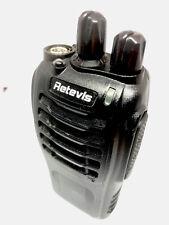 Retevis Walkie Talkies - Portable two way radio (x2 radios)