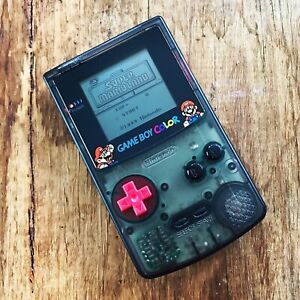 Nintendo GameBoy Color - Colour Game Boy Handheld GBC Console Black Mario Bros