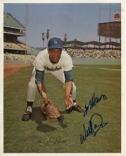 WILLIE DAVIS LOS ANGELES DODGERS MLB BASEBALL PLAYER SIGNED PHOTO AUTOGRAPH