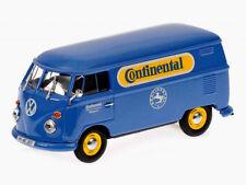 "wonderful modelcar  VW T1 Delivery Van ""CONTINENTAL"" 1960 - blue -  1/43"
