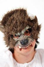 Fairytale-nursery rhyme-evil-halloween BIG BAD wolf-werewolf Mezzo Viso Maschera